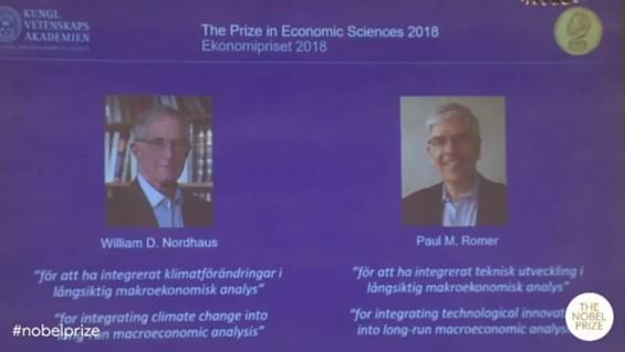 MIT 출신 수학자-경제학자, 노벨 경제학상 수상...경제학에 '혁신'과 '기후변화' 결합