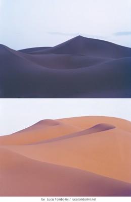 어린 왕자가 있을 것 같은 사막의 아름다움