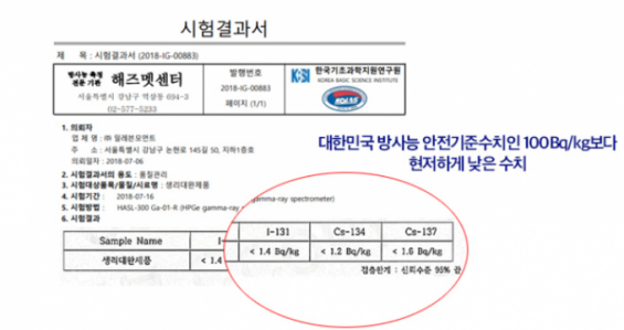 """'오늘습관' 방사능 검사한 기초연 """"라돈함량은 확인.위해성 판단 보류"""""""