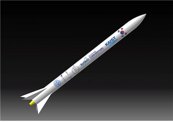 KAIST가 만든 소형 과학로켓, 28일 하늘로