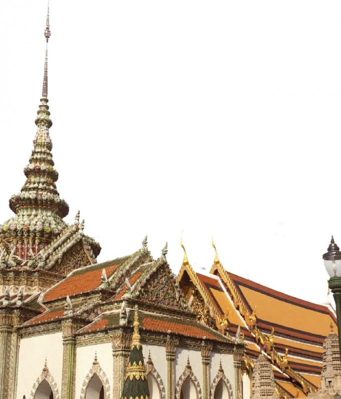 2017 태국탐사대가 방문한 태국 왕궁 -조혜인 기자 제공