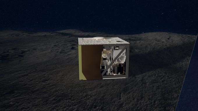 소행성 류구에 착륙중인 독일-프랑스 탐사로버 ′마스코트(MASCOT)′ 상상도. -사진제공 DLR