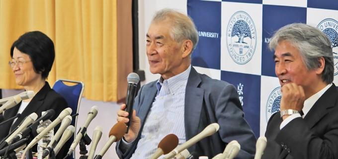 올해 노벨생리의학상 수상자로 선정된 혼조 다스쿠 일본 교토대 교수. 다스쿠 교수는 2016년 교토상 수상자로도 선정된 바 있다. 교토대