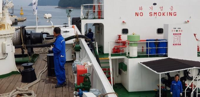 [이사부호 동승 르포]해양연구 '보고' 북서태평양으로