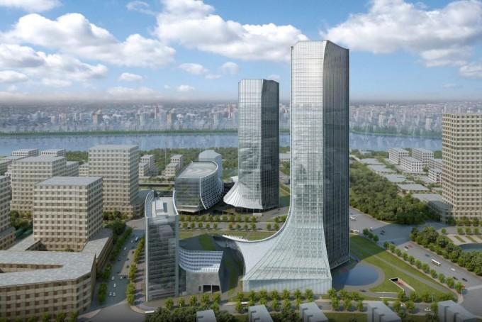 지난달 마이크로소프트(MS)가 중국 상하이에 건설할 계획이라고 발표한 새로운 R&D 센터 조감도. - MS 제공
