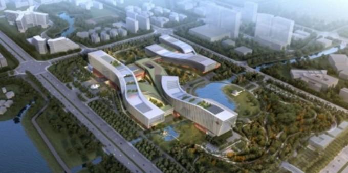 중국 안후이성의 허페이에 2020년 완공될 예정인 양자정보기술핵심연구소 조감도. - 중국과학원 제공
