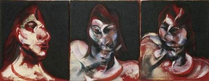 프란시스 베이컨의 1963년 작품 ′Henrietta Moraes의 초상화에 대한 세 가지 연구′ - MOMA 제공