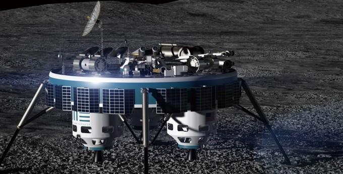 문 익스프레스가 개발 중인 달 자원탐사선 'MX-5'의 모습. - Moon Express 제공