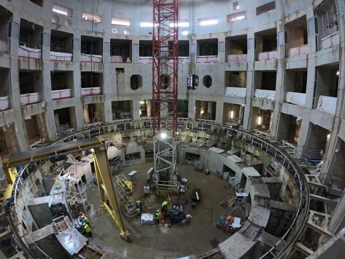 프랑스 카다라쉬 국제핵융합실험로(ITER) 건설 현장. 이곳은 초전도 핵융합로(토카막)가 들어설 본관 내부의 모습이다.  동아사이언스DB