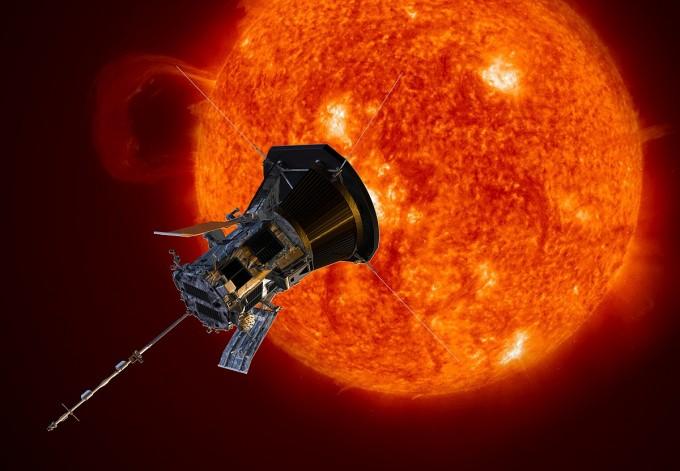 태양 관측선 파커 솔라 프로브 상상도. - 사진 제공 NASA