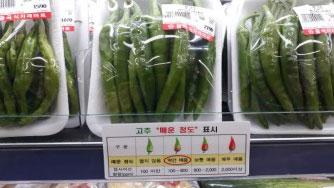 고추 매운맛 4단계 구분한다…농산물 표준규격 개정