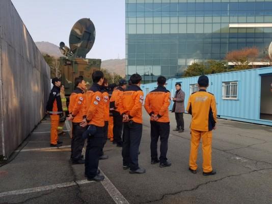 '누리호' 엔진 시험발사체 발사 앞두고…군·경찰·소방도 '비상 대기'