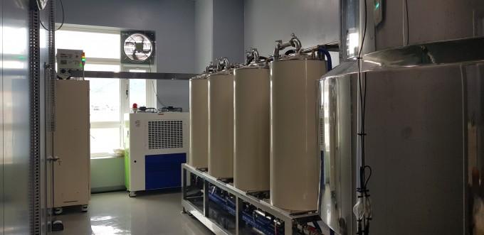 한국식품연구원이 개발한 참기름 찌꺼기 성분 추출 장치로 초음파를 이용하는 것이 특징이다.-한국식품연구원 제공