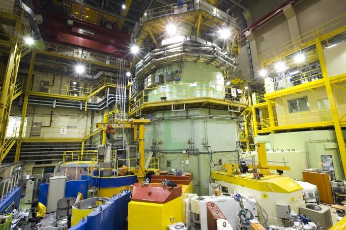 한국원자력연구원의  연구용 원자로 '하나로'. 원자력연 제공