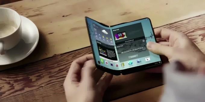 삼성의 폴더블폰. 삼성전자 제공