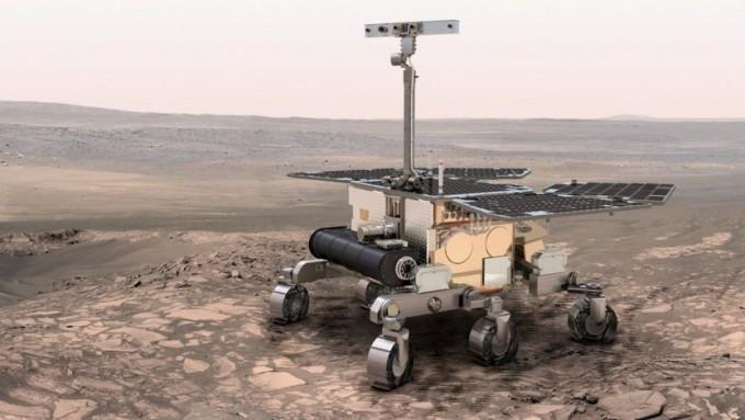 유럽과 러시아가 2020년대 중반 발사를 목표로 진행하는 화성 탐사 계획에 사용될 로버의 개념도다- 유럽우주국 제공