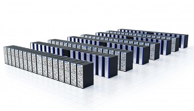 한국과학기술정보연구원(KISTI) 슈퍼컴퓨터 5호기. - KISTI 제공