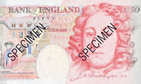 英 새 50파운드 지폐에 들어갈 과학자는 누구