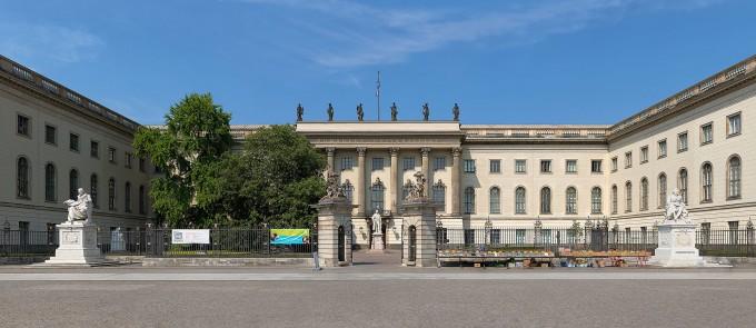 오늘날의 연구중심대학의 효시가 된 독일 베를린 훔볼트대 본관 정경. -사진 제공 크리스티앙 볼프(W)