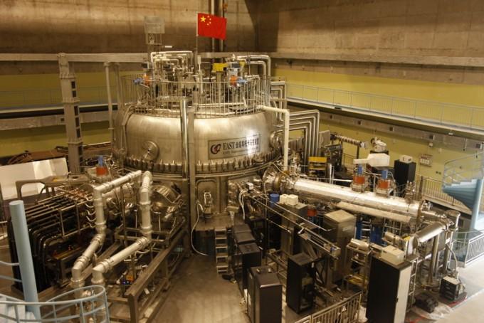 중국과학원(CAS)의 핵융합실험로인 '실험용고성능초전도토카막(EAST)'. - 중국과학원 제공