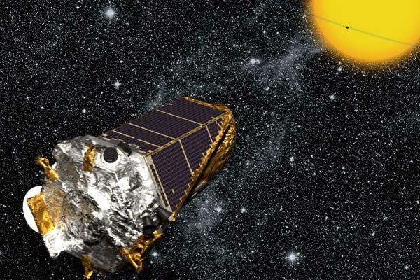 2009년 발사돼 9년 간 2600개의 행성들을 찾아내고 수명을 다한 케플러 우주선- NASA 제공