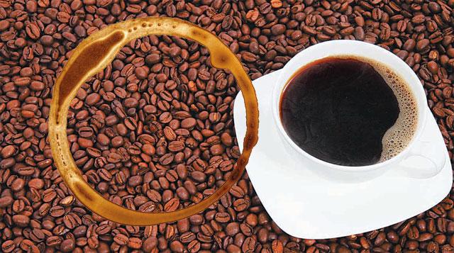 마시다 떨어뜨린 커피 한 방울이 마르면 고리 모양의 얼룩이 남는다. 이 현상의 이면에는 물리학이 숨어 있다. -사진 제공 게티이미지뱅크·픽사베이