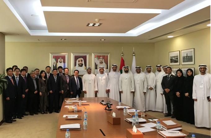 한국와 아랍에미리트(UAE)가 1일 아부다비에서 과학기술-ICT 공동위원회를 개최하고, 7개 과학기술 분야 공동연구에 합의했다. -사진 제공 과학기술정보통신부