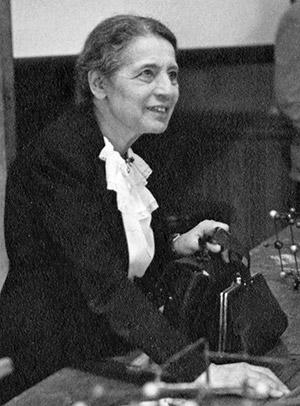 핵분열을 발견한 리제 마이트너의 1946년 모습 - Smithsonian Institution(W) 제공