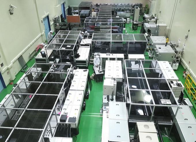 기초과학연구원(IBS) 초강력레이저과학연구단이 개발해 운영 중인 4페타와트급 레이저. 남창희 제공