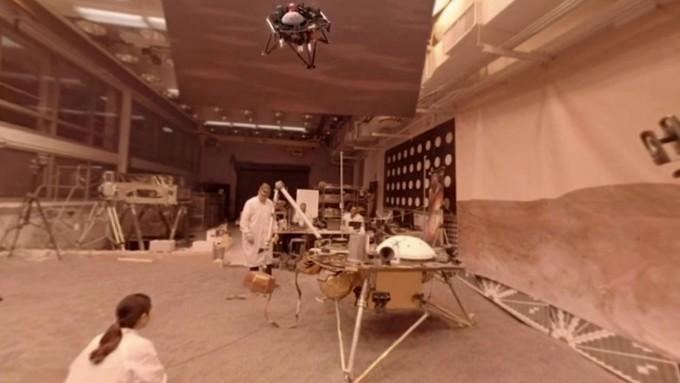 인사이트의 탐사 활동을 지구에서 포어테스트로 똑같이 테스트해보는 과정을 거칩니다. NASA 제공