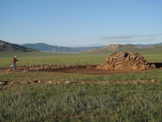 연구팀이 대상지로 삼은 지역 중 하나인 몽골의 스텝 지역. - 사진 제공 MPI