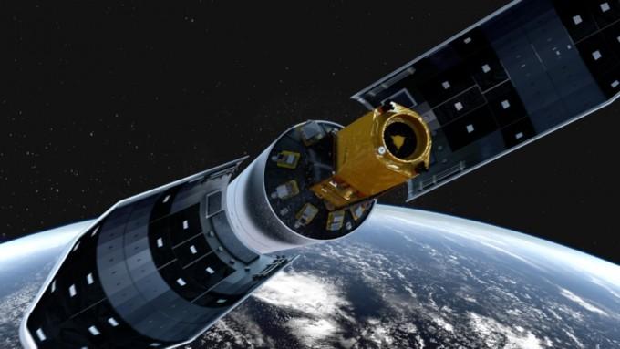 2021년에 발사될 한국형발사체(KLSV-II)는 로켓 상단부에 1.5t급의 실용위성을 싣고 하늘로 날아오르게 된다. 실용위성을 고도 600~800km의 저궤도에 올리기 위해 실용위성의 100배가 넘는200t 무게의 로켓이 쓰인다. -한국항공우주연구원 제공