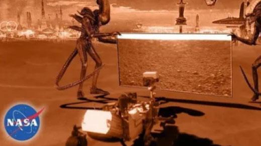화성 사진의 진실