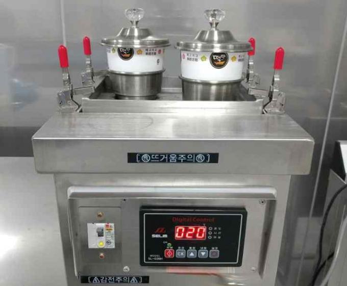 한국식품연구원은 2분이면 제조 가능한 즉석떡류 제조 시스템을 개발했다고 23일 밝혔다. 금준석 가공공정연구단 박사 연구팀이 개발한 즉석 떡 제조장치-한국식품연구원 제공