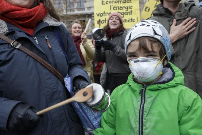 기후변화의 공범 미국·러시아에 분노하다