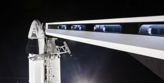 민간 우주여행 속도 내는 스페이스X, '크루 드래건' 발사 앞두고 탑승시설 공개