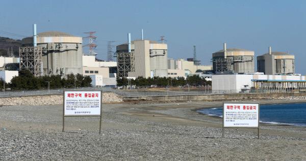 월성원전.  한국수력원자력 제공