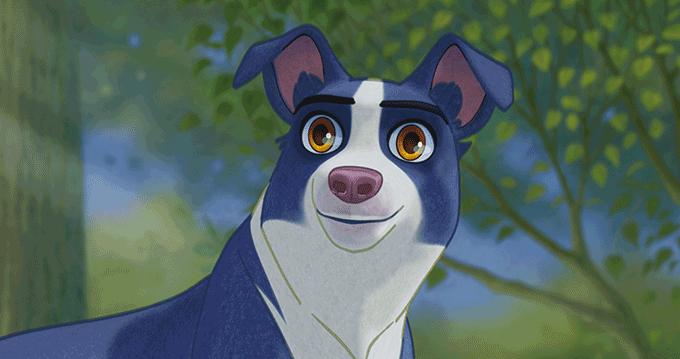 사람이 없는 '개토피아'를 찾는 유기견들의 모험기를 그린 애니메이션 ′언더독′. 영화사NEW