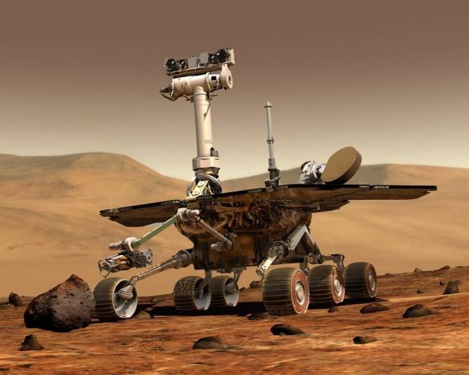 지난 24일은 미국항공우주국(NASA)의 화성 탐사선 오퍼튜니티가 화성에 착륙한 지 15주년이 되는 날이었다. 하지만 오퍼튜니티는 7개월이 지나도록 연락이 닿질 않고 있다. NASA 제공