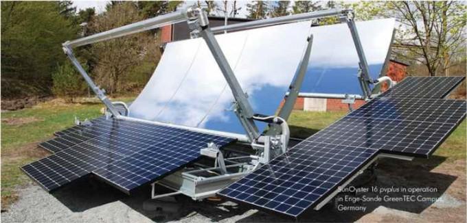 독일 기업 선오이스터가 제작한 태양광열 발전 시스템 시제품. - 선오이스터 제공