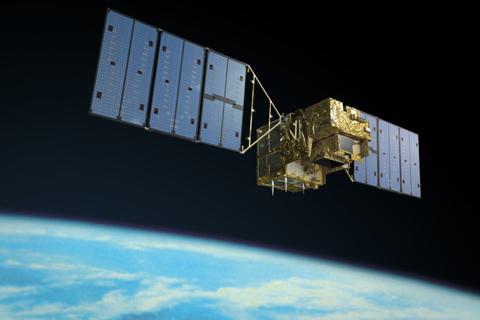 중국은 온실가스의 일종인 메탄 감축 계획을 세웠음에도 오히려 메탄 배출량이 매년 증가했음이 위성 데이터 분석 결과 밝혀졌다. 일본의 온실가스감시위성(GOSAT) ′이부키 1호′의 모습. 일본우주항공연구개발기구(JAXA) 제공