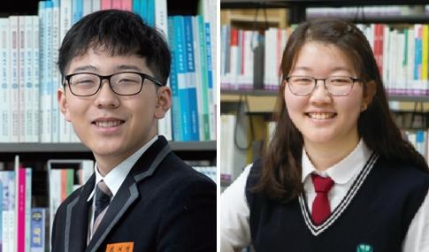 2019 수능 만점자 김지명(좌), 이정수 학생