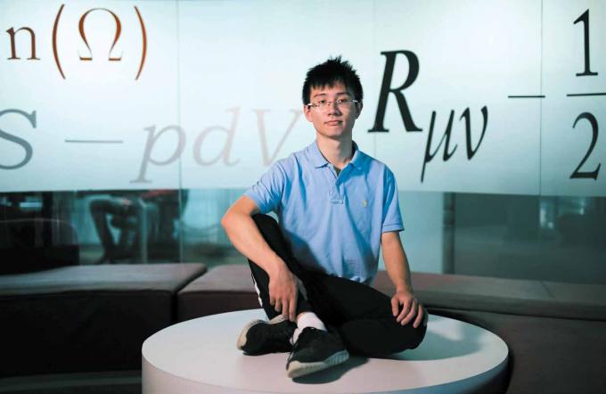 학술지 '네이처'가 선정한 '2018 화제의 인물 10'에서 가장 먼저 소개된 차오위안. 22세의 대학원생이 간판으로 뽑힌 건 이례적인 일이다. 코린나 컨/네이처 제공