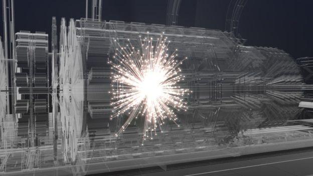 대형강입자충돌기를 뛰어넘을 새로운 입자가속충돌기가 개발된다. 2040년에 힉스입자를 넘어선 우주의 비밀을 풀어줄 입자를 탐색할 예정이다.-CERN 제공