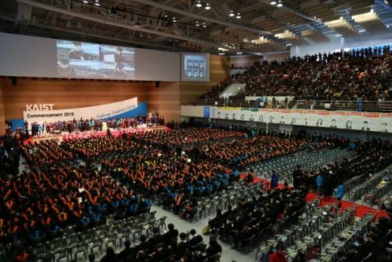 KAIST 2019년 학위수여식 열려