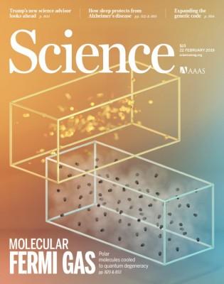 [표지로 읽는 과학]절대영도 가까운 극저온에서 탄생시킨 페르미온 분자