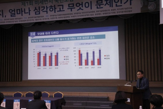 """""""미세먼지,20여년간 감소 추세…인식 격차 줄여야"""""""