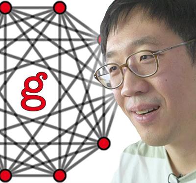 유튜브에서 'g-conjecture'라고 검색하면 g-추측이란 무엇인지 허준이 박사가 설명하는 영상을 만나볼 수 있다. 유투브 캡처