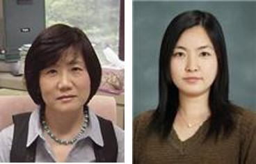 연구를 주도한 정태숙 생명연 산업바이오소재연구센터 책임연구원(왼쪽)과 이화 박사후연구원. 생명연 제공