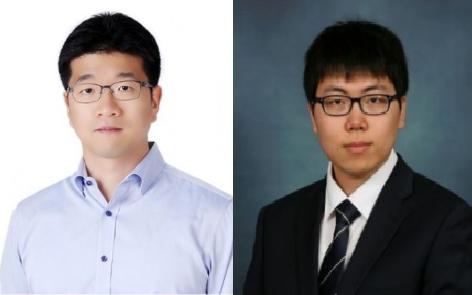 연구에 참여한 정대성 DGIST 에너지공학전공 교수와 윤성원 박사과정생. 한국연구재단 제공